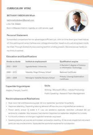 Free PowerPoint CV Template - The BeniTalk