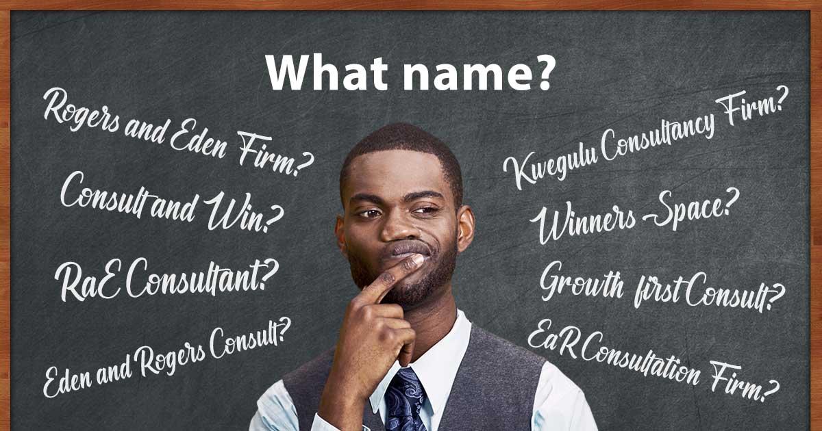 How to name a new company? - Black Guy thinking - The BeniTalk