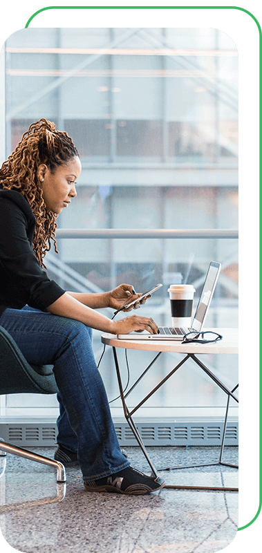 Woman sitting in office, The BeniTalk Blog Consultation