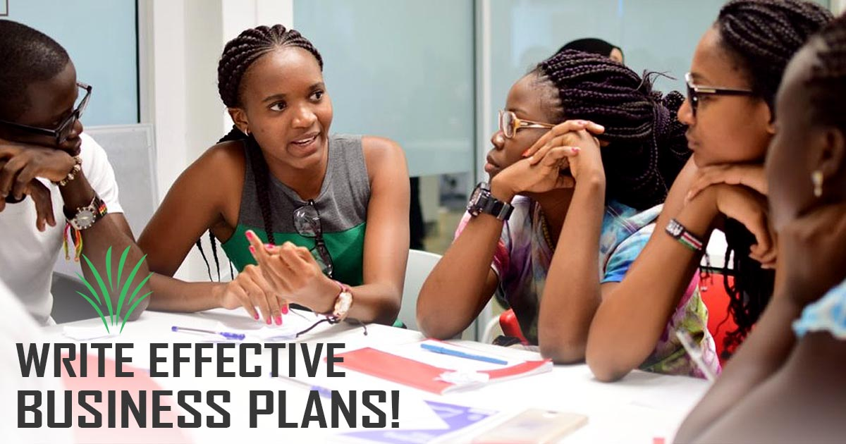 How to write a short and precise business plan